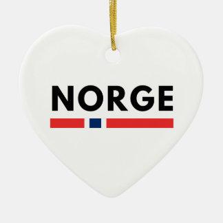 Norge Ceramic Ornament