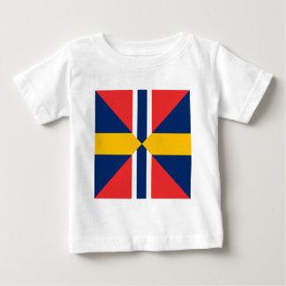 Norge Sverige Sildesalaten, Norway Baby T-Shirt