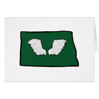 Norht Dakota Tough Wings Card