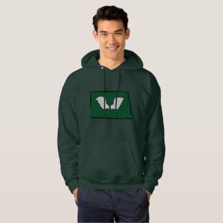 Norht Dakota Tough Wings Hoodie