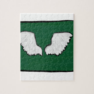 Norht Dakota Tough Wings Jigsaw Puzzle