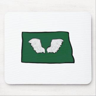 Norht Dakota Tough Wings Mouse Pad