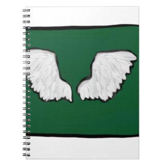 Norht Dakota Tough Wings Notebook