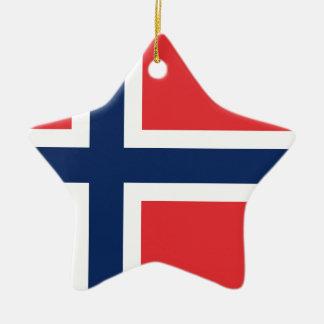 norieguian Flag Ceramic Ornament