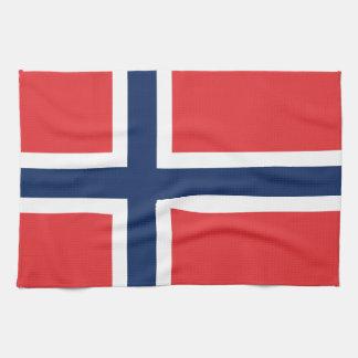 norieguian Flag Hand Towels