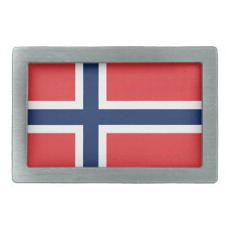 norieguian Flag Rectangular Belt Buckles