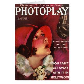 Norma Talmadge Silent Screen Actress Card
