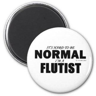 Normal Flutist Magnet