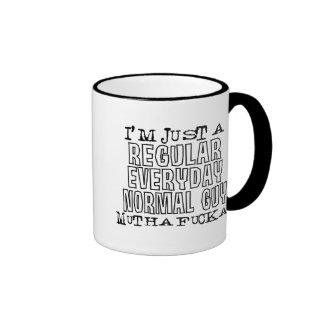 Normal Guy Ringer Mug