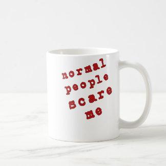 Normal People Scare Me Coffee Mugs