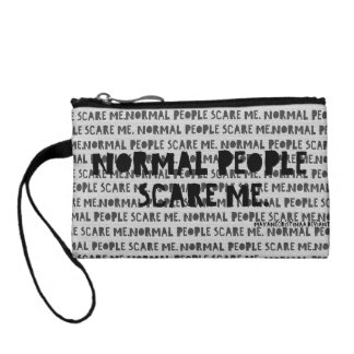 """Normal People Scare"" Me - IndianCurrent Coin Purse"