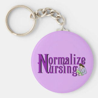 Normalize Nursing Keychain