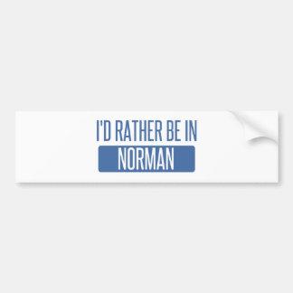 Norman Bumper Sticker