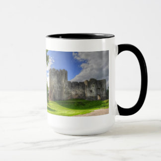 Norman Chepstow Castle Ruins of Wales, UK Mug