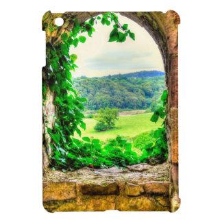Norman Chepstow Castle Window in Wales, UK iPad Mini Cases