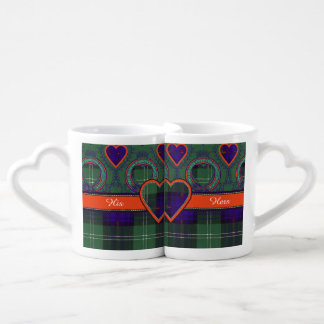 Norman clan Plaid Scottish kilt tartan Coffee Mug Set
