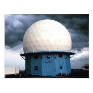 Norman Doppler Radar installation Postcard