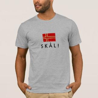 Norman flag of saint-Olaf SKÅL! T-Shirt