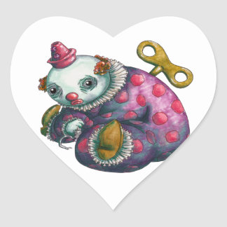 Norman Heart Sticker