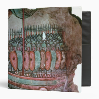 Norman soldiers crossing the English channel Vinyl Binder