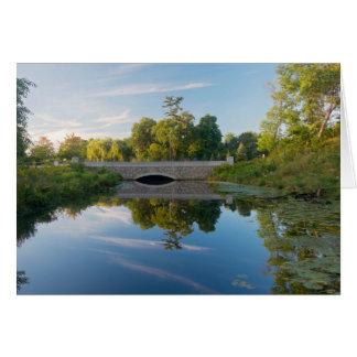 Normandale Lake Park and Bridge Card