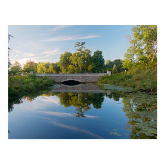 Normandale Lake Park and Bridge Postcard