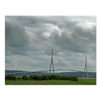 Normandy Bridge Postcard