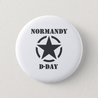Normandy D-Day 2 Inch Round Button