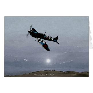 """Normandy Dawn"" June 5th 1944 Card"