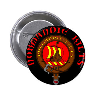 Normandy Kilts swipes in 2 Inch Round Button