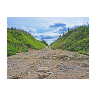 Normandy Road Canvas Print