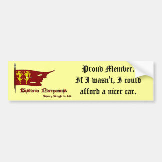 Normannis Car Sticker