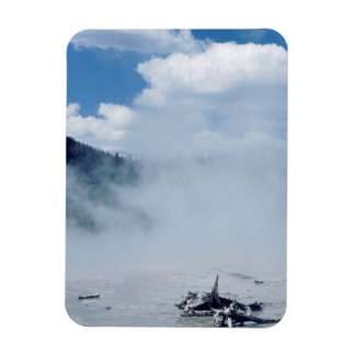 Norris Geyser Basin at Yellowstone National Park Magnet