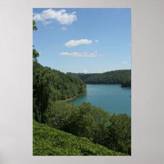 Norris Lake Print