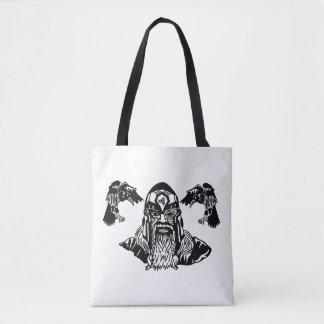 Norse Asatru Tribute Tote Bag