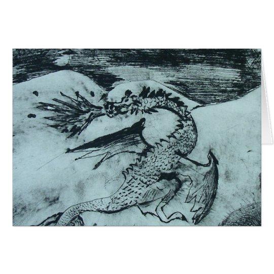 Norse Dragon Card