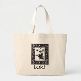 Norse God Loki Canvas Bags