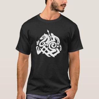 Norse God Odin and Sleipnir T-Shirt