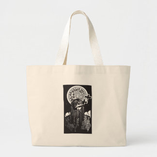 Norse God Odin with Spiral Crows Bags
