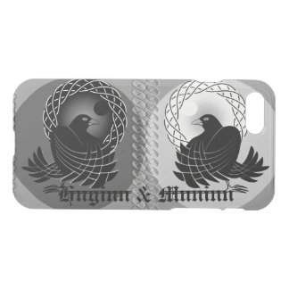 Norse God Odin's Ravens Huginn and Muninn iPhone 8/7 Case