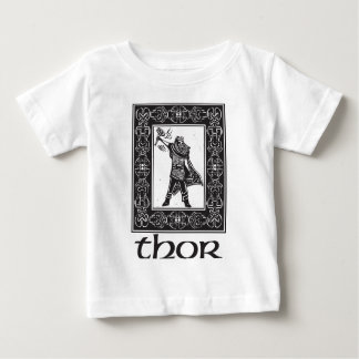 Norse God Thor Baby T-Shirt
