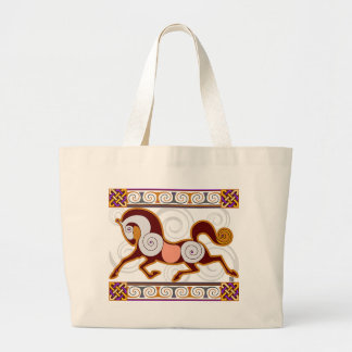 Norse Horse MegaTote Bag: Glow Jumbo Tote Bag