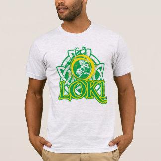 Norse Loki Character Graphic T-Shirt