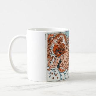 Norse Mythology - Frey and Freya Basic White Mug