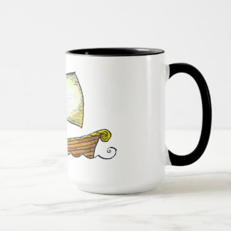 Norse Sailing Ship Coffee Mug