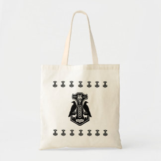 Norse Thor's Hammer Budget Tote Bag