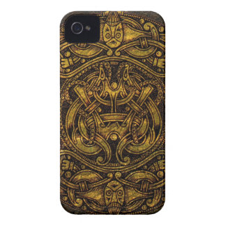 NORSE VINTAGE ART Case-Mate iPhone 4 CASES
