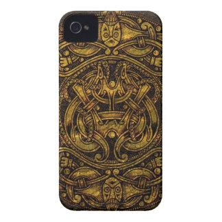 NORSE VINTAGE ART iPhone 4 CASE