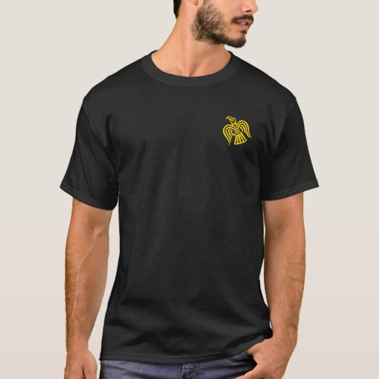 Norsemen - Viking black & gold Crossed Axes Shirt