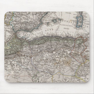 North Africa Region Map Mouse Pad